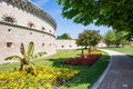 The Reduit Tilly castle in Ingolstadt Royalty Free Stock Photo