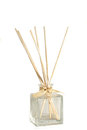 Reed diffuser shown isolated against white background Stock Photography