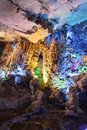Reed flute cave guilin Stock Photo