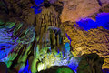 The reed flute cave guilin guangxi Stock Photography