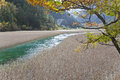 Reed lake in jiuzhaigou Stock Image