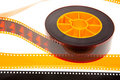 Reel and film leader Royalty Free Stock Photos