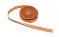 Reel of orange ribbon Royalty Free Stock Photo