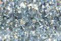 Refection caustic of diamond crystal jewel light reflect Royalty Free Stock Photo