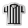 Referee shirt uniform icon