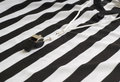 Referee Shirt with Whistle Royalty Free Stock Photos