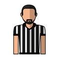 Referee sport avatar character