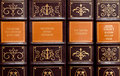 Reference books Royalty Free Stock Photo