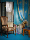 Refined boudoir interior Royalty Free Stock Photos