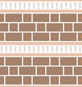 Refined modern seamless geometric wallpaper pattern Royalty Free Stock Photo