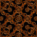 Refined wood decorative background pattern digital photo manipulation abstract artwork created from a piece of photo in brown Royalty Free Stock Images