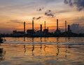 stock image of  Refinery plant in Bangkok