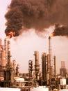 Rafinérie znečištění