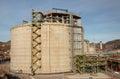 Refinery storage tank Stock Photo
