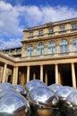 Reflecting Balls of Palais Royale Royalty Free Stock Photo
