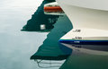 Reflection of a Boat Bow Royalty Free Stock Photo