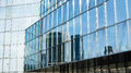 Reflection of fenchurch building london horizontal photography glass modern architecture Royalty Free Stock Images