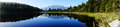Reflection on Lake Matheson, New Zealand Royalty Free Stock Photo