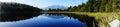 Reflection on Lake Matheson, New Zealand Royalty Free Stock Photo