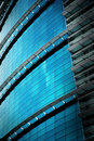 reflection office building glass wall Royalty Free Stock Photo