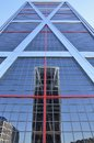 Reflection in skyscrapers Royalty Free Stock Photo