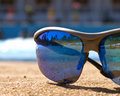 Reflection in sunglasses Royalty Free Stock Photography