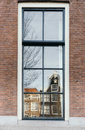 Reflection in a window Royalty Free Stock Photo