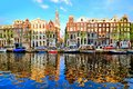 Reflections of Amsterdam Royalty Free Stock Photo