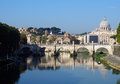 Reflections on the Tiber River, Rome Royalty Free Stock Photo