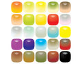 Reflective glassy rounded edge buttons Royalty Free Stock Photo