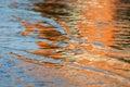 Reflexión del agua Fotografía de archivo libre de regalías