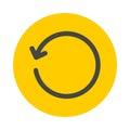 Refresh icon Royalty Free Stock Photo