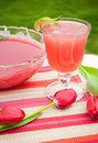 Refreshing Juice Cocktail Drink Royalty Free Stock Photos