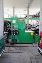 Refueling of petrol has become an expensive affair Royalty Free Stock Photography