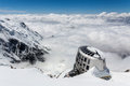 Refuge Du Gouter, Mont Blanc Royalty Free Stock Photo