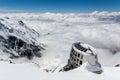 Refuge Du Gouter, Mont Blanc Royalty Free Stock Photo
