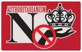 Refusal to authoritarianism