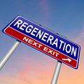 Regeneration concept. Royalty Free Stock Photo