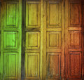 Reggae door Royalty Free Stock Photo