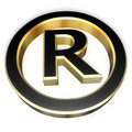 Registered sign Royalty Free Stock Images