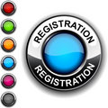 Registration button. Royalty Free Stock Photography