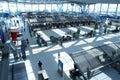 Registrazione dell'aeroporto Fotografia Stock