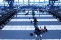 Registro do aeroporto Imagens de Stock Royalty Free