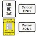 Regulatory Road Signs In Ireland