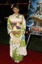 Rei kikukawa at the world movie premiere of godzilla final wars at the grauman chinese theater hollywood ca Royalty Free Stock Photography