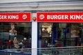 Rei restaurant de urger em londres Fotos de Stock