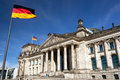 Reichstag in Berlin, Germany Royalty Free Stock Photo