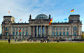 The Reichstag, Berlin, Germany Royalty Free Stock Photos