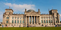 Reichstag berlin germany in in Royalty Free Stock Photos