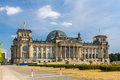 Reichstag building in berlin germany Stock Photos